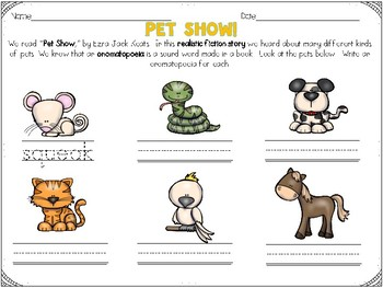 Reader's Response to Pet Show
