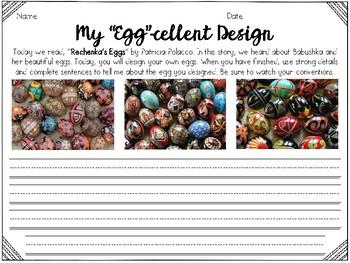 Rechenka's Eggs Reader's Response With Egg Craft