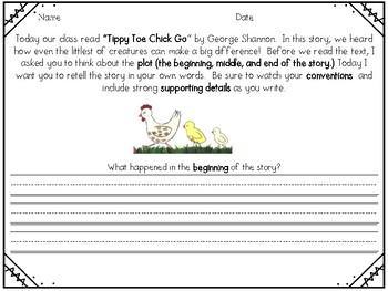 Tippy Toe Chick Go Reader's Response