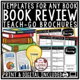 Book Review Template Brochure & Book Report Template for Any Book Rubric