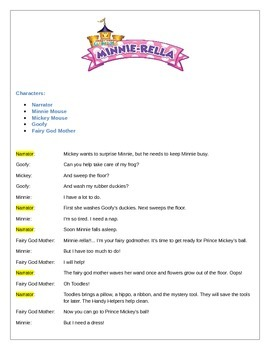 Mickey Mouse Clubhouse Reader's Theater