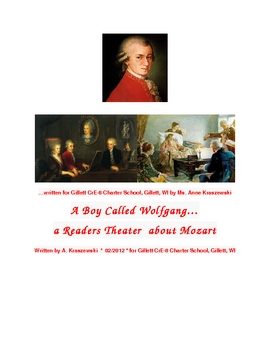 Reader's Theater:  A Boy Called Wolfgang