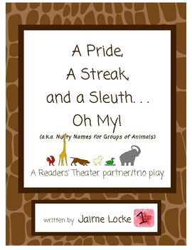 Readers' Theater: A Pride, A Streak and a Sleuth Oh My!
