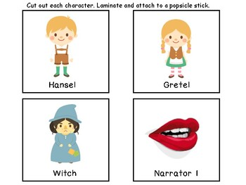 Reader's Theater Activity Pack-Hansel and Gretel