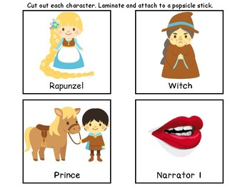 Reader's Theater Activity Pack-Rapunzel