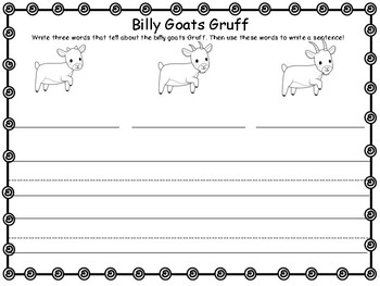 Reader's Theater Activity Pack - Three Billy Goats Gruff