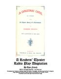 Readers' Theater Radio Play Adaptation of A Christmas Carol