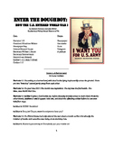 Reader's Theater Play - Enter the Doughboy: The U.S. and World War I