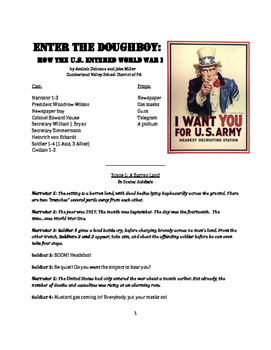 Reader's Theater Play - Enter the Doughboy: The U.S. and W