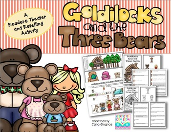 Readers Theater And Retelling - Goldilocks And The Three Bears {K-2}