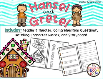 Readers Theater And Retelling - Hansel and Gretel {K-2}