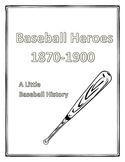 Reader's Theater:   Baseball Heroes Then and Now