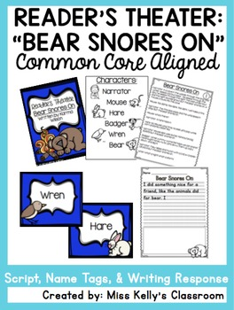 Reader's Theater: Bear Snores On (Common Core Aligned)