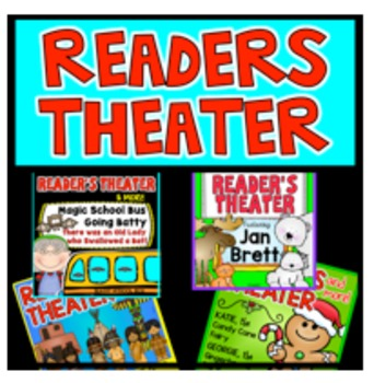 Readers Theater Fluency Activity Jan Brett Native American Christmas Bundle