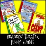 Funny Readers' Theater Fluency Scripts & Activities Bundle