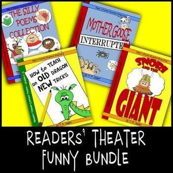 Readers' Theater Bundle of Funny Fluency Scripts