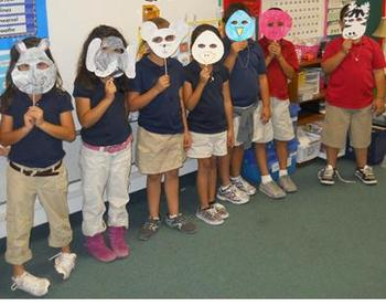 Readers Theater Character Masks