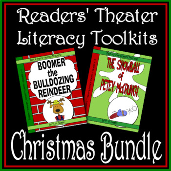 Readers' Theater - Christmas Readers' Theater Literacy Toolkit Bundle-Grades 3-6