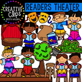 Readers Theater Clipart {Creative Clips Clipart}
