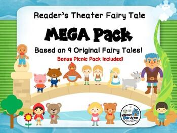 Reader's Theater Fairy Tale MEGA pack! Plus Bonus Picnic Pack!