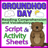 Groundhog Day - Readers Theater Holiday Script, Reading & Activity Packet