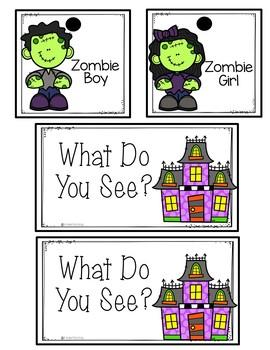 Readers Theater - Halloween FREEBIE | Fluency Practice Kindergarten