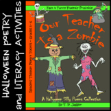 Readers' Theater Halloween Poetry, Writing Prompts, Vocab