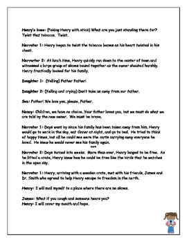 Reader's Theater Henry's Freedom Box Script