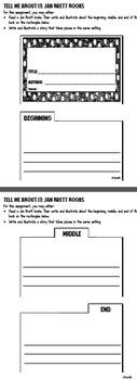 Jan Brett Readers Theater Fluency