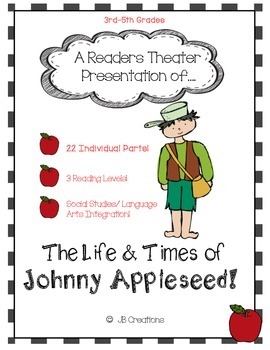 Reader's Theater: Johnny Appleseed (leveled play for 3rd, 4th, 5th grade)