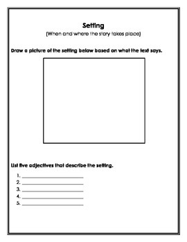 Reader's Theater Literature Circle Packet
