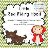 Readers Theater: Little Red Riding Hood (with a very different ending!)