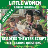 """""""A Merry Christmas"""" from Little Women - Readers Theater Script"""