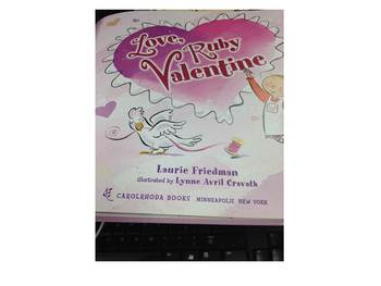 Reader's Theater:  Love, Ruby Valentine