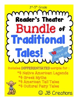 Reader's Theater BUNDLE:  Myths, Legends, & Tall Tales! (4