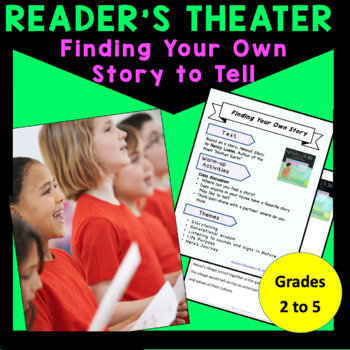 Readers Theater Nessa's Story, based on a story by Nancy Luenn