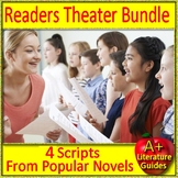 Readers Theater Novel Study Bundle from Popular Novels - Printable AND Paperless