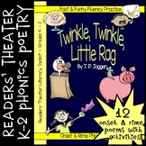 Readers' Theater Onset & Rime Phonics Poems & Activities (Grades K, 1, 2)