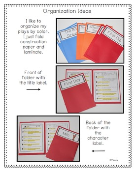 Reader's Theater - Partner Plays for Advanced Readers {Back to School}