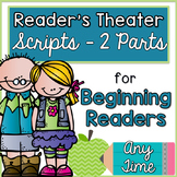 Reader's Theater Scripts for Beginning Readers {Any Time of the Year}