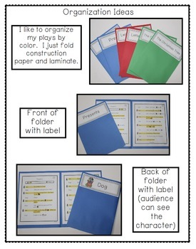 Reader's Theater - Partner Plays for Beginning Readers {Holiday Edition}