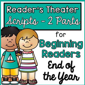 Reader's Theater - Partner Plays for Beginning Readers {En