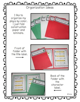 Reader's Theater - Partner Plays for Kinder Kids! {Holiday Edition}