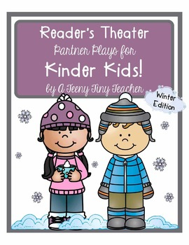 Reader's Theater - Partner Plays for Kinder Kids! {Winter Edition}