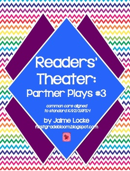Readers' Theater: Partner & Trio Plays #3