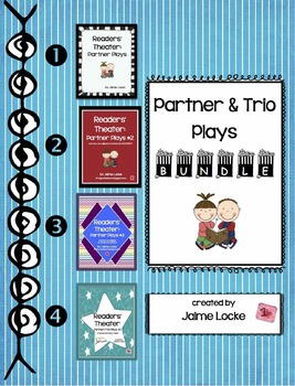 Readers' Theater: Partner/Trio plays MEGA pack