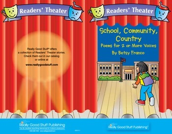 Readers' Theater: Poems for 2 or More Voices: School, Community, Country