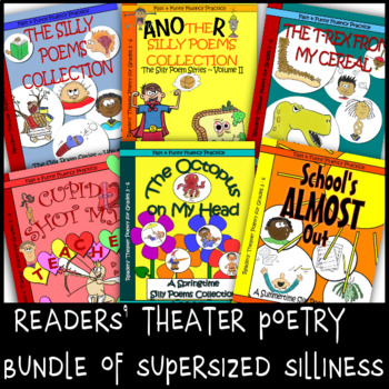 Readers' Theater Poetry Bundle of Supersized Silliness (grades 3-6)