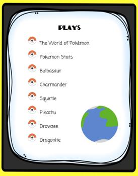 Readers' Theater: Pokemon