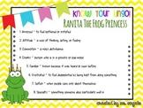 Reader's Theater, Ranita The Frog Princess